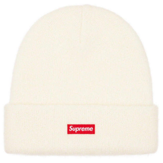 Supreme(シュプリーム)のSupreme Mohair Beanie 白 WHITE メンズの帽子(ニット帽/ビーニー)の商品写真