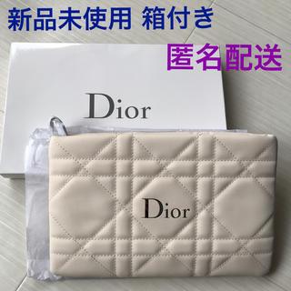 ディオール(Dior)のディオール  Dior ポーチ クラッチ ホワイト 限定 レア 新品 箱付き(クラッチバッグ)
