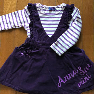 ANNA SUI mini - アナスイミニ ワンピース