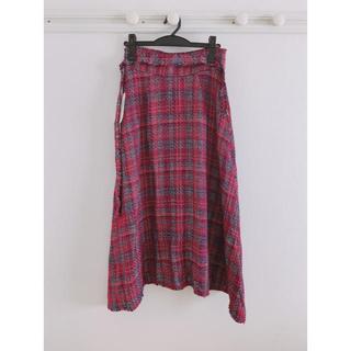 ミラオーウェン(Mila Owen)のミラオーウェン  ツイードスカート(ロングスカート)