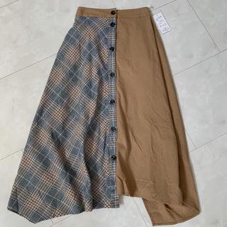 チェックロングスカート(ロングスカート)