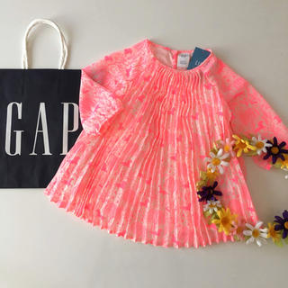 ベビーギャップ(babyGAP)の新品♡baby gap♡ワンピース サラジェシカ/ラルフローレン ユニクロ 他(ワンピース)