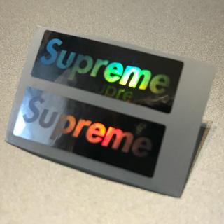 Supreme - supreme ホログラムステッカー 残りわずか