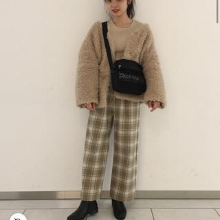カスタネ(Kastane)のkastane 2way ボアジャケット(毛皮/ファーコート)