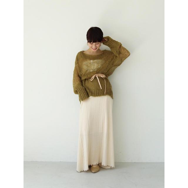 TODAYFUL(トゥデイフル)のtodayful Mohair Lowgauge Knit モヘアニット レディースのトップス(ニット/セーター)の商品写真