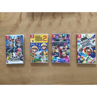 Nintendo Switch - 任天堂スイッチソフトセット マリオシリーズ