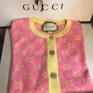 グッチ(Gucci)のGUCCI カーディガン 美品(カーディガン)