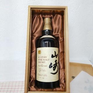 サントリー - サントリー ピュアモルトウイスキー 山崎 12年 760ml 古酒