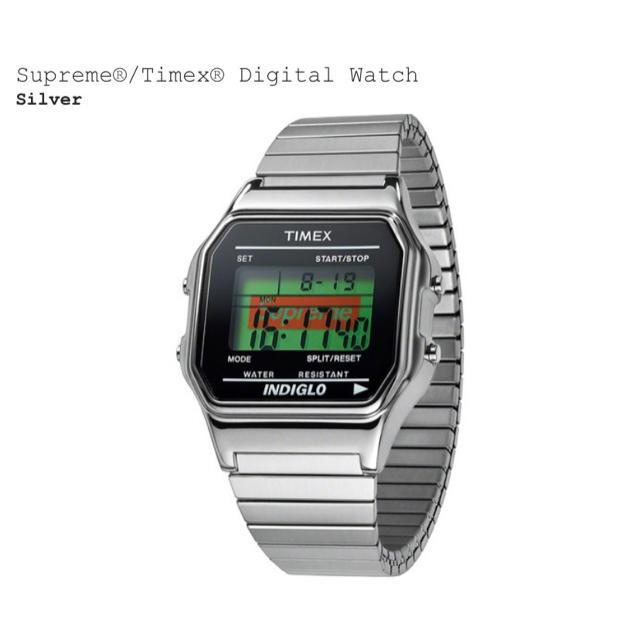 Supreme(シュプリーム)のSupreme TIMEX DIGITAL WATCH メンズの時計(腕時計(デジタル))の商品写真