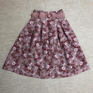 ダズリン(dazzlin)のオーガストガーデンスカート(ひざ丈スカート)