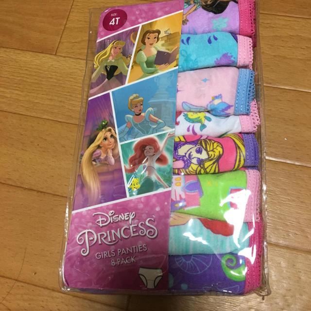 Disney(ディズニー)のキッズ ショーツ プリンセス 4歳 キッズ/ベビー/マタニティのキッズ服 女の子用(90cm~)(下着)の商品写真