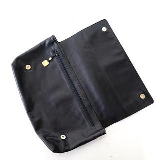 ロエベ(LOEWE)のLOEWE leather anagram clutch bag(セカンドバッグ/クラッチバッグ)