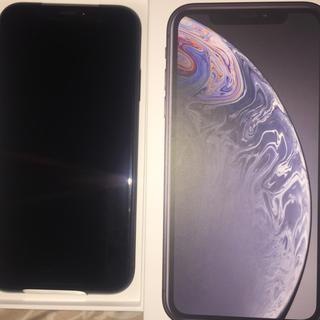 iPhone - iPhoneXR 64G 未使用品 ブラック SIMフリー