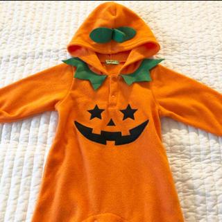 シマムラ(しまむら)のかぼちゃ ロンパース(ロンパース)