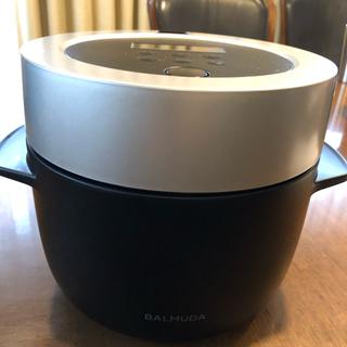 バルミューダ(BALMUDA)のBALUMUDA  K03Aシリーズ ブラック(炊飯器)