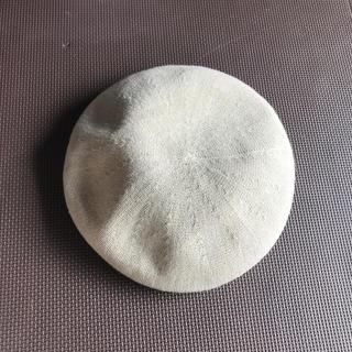 アースミュージックアンドエコロジー(earth music & ecology)の帽子 earth ベージュ ベレー帽(ハンチング/ベレー帽)