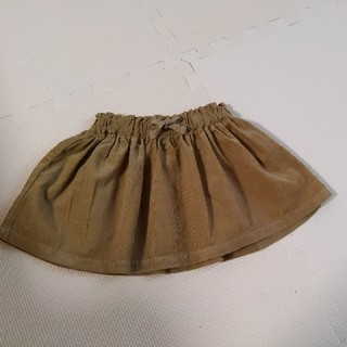 ザラキッズ(ZARA KIDS)のザラ ベビー コーデュロイスカート 80(スカート)