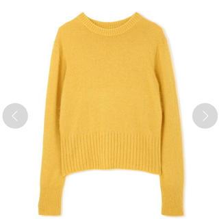 ジルスチュアート(JILLSTUART)のジルスチュアート 黄色ニット(ニット/セーター)