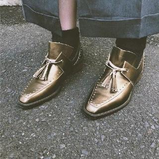 アメリヴィンテージ(Ameri VINTAGE)の完売新作 ameri ローファー(ローファー/革靴)