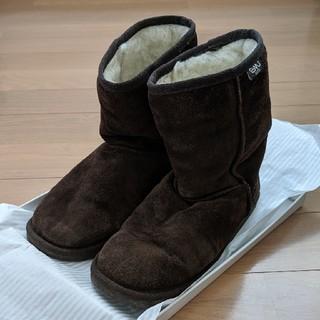 エミュー(EMU)のeMU  ムートンブーツ 25cm サイズ8 (ブーツ)