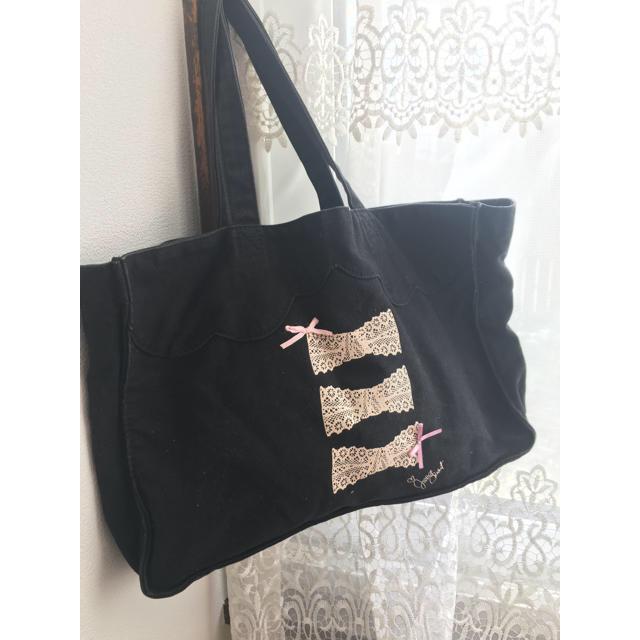 JILLSTUART NEWYORK(ジルスチュアートニューヨーク)のジルスチュアートキャンバスバッグ レディースのバッグ(トートバッグ)の商品写真