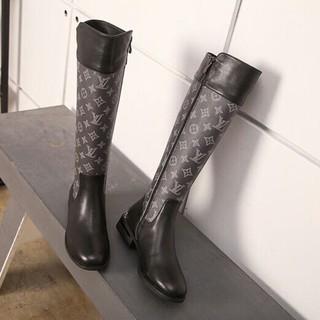 LOUIS VUITTON - LOUIS VUITTON  ブーツ  22.5-24.5cm