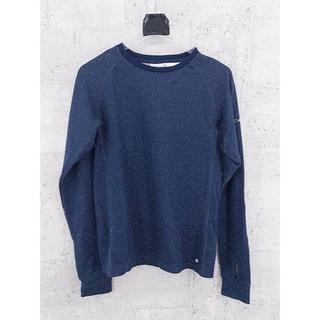 コロンビア(Columbia)のCOLUMBIA コロンビア カットソー OMNI-WICK ネイビー Sサイズ(Tシャツ/カットソー(七分/長袖))
