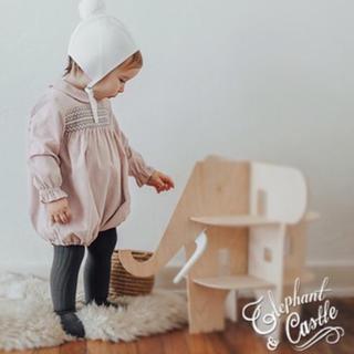 キャラメルベビー&チャイルド(Caramel baby&child )のElephant&Castle コーデュロイロンパース(ロンパース)