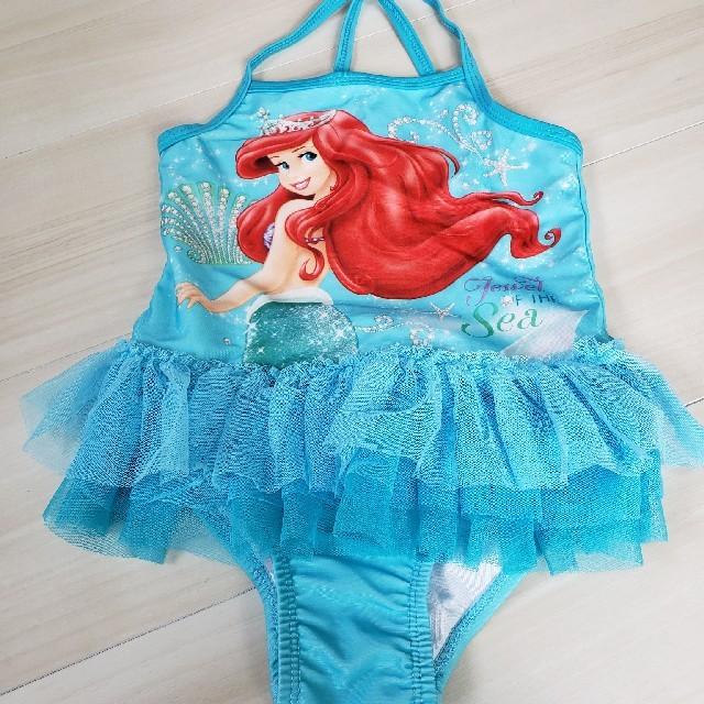 Disney(ディズニー)の期間限定値下げ 美品 アリエル水着 4T キッズ/ベビー/マタニティのキッズ服 女の子用(90cm~)(水着)の商品写真