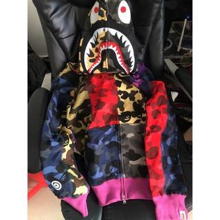 A BATHING APE - bape パーカー
