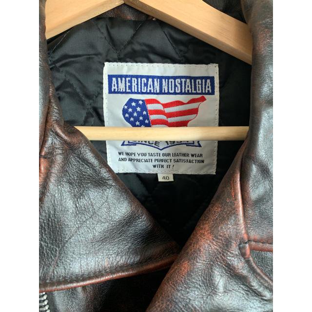 Lewis Leathers(ルイスレザー)のダブルライダースジャケット レザージャケット メンズのジャケット/アウター(ライダースジャケット)の商品写真