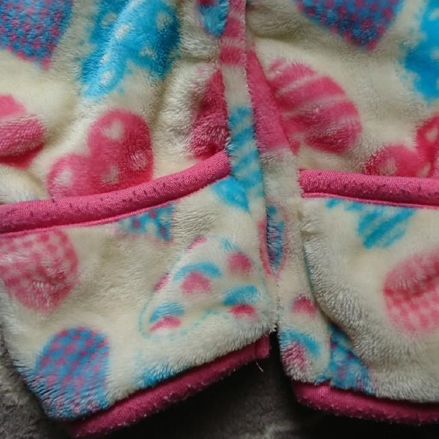 しまむら(シマムラ)のモコモコ カバーオール  80サイズ キッズ/ベビー/マタニティのベビー服(~85cm)(カバーオール)の商品写真