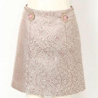 Lily Brown - lilybrown ジャガードスカート