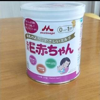 モリナガニュウギョウ(森永乳業)の森永 E赤ちゃん 粉ミルク 小缶(その他)