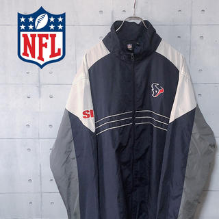 リーボック(Reebok)の★入手困難★リーボック ナイロンジャケット NFL マルチカラー 刺繍ロゴ(ナイロンジャケット)