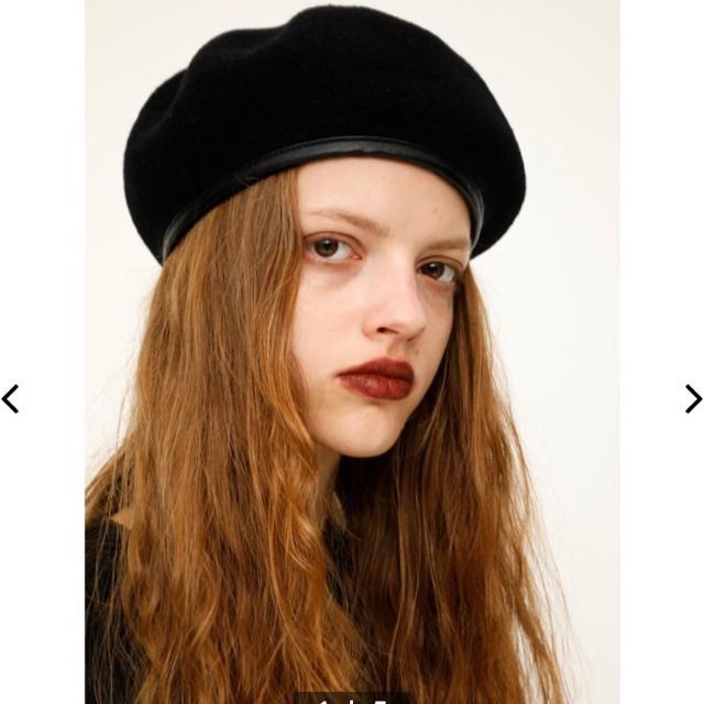 SLY(スライ)の未使用 SLY ベレー帽 レディースの帽子(ハンチング/ベレー帽)の商品写真