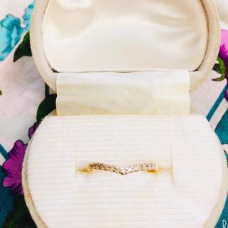 ジュエリーツツミ(JEWELRY TSUTSUMI)のジュエリーツツミ 14K ダイヤリング(リング(指輪))