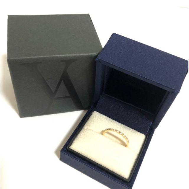 Vendome Aoyama(ヴァンドームアオヤマ)のヴァンドーム青山 K18YG ダイヤ エタニティ リング 0.11ct レディースのアクセサリー(リング(指輪))の商品写真