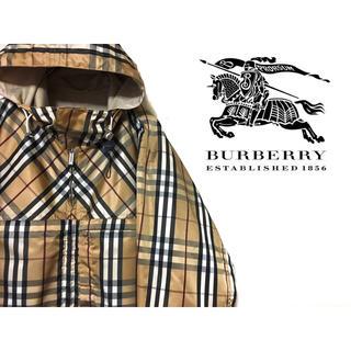 BURBERRY - バーバリー Burberry リバーシブル  ノバチェック ナイロンジャケット