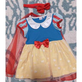 ディズニー(Disney)のいまだけヘアアクセ付♡白雪姫♡ハロウィン♡仮装(ワンピース)