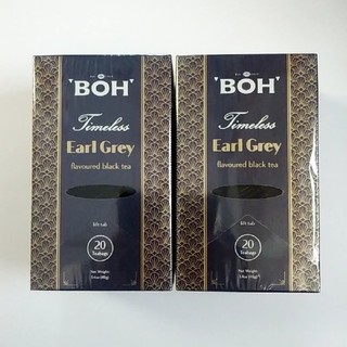 BOH - 最高級 紅茶 BOH TEA ティーパック 20袋✖2個