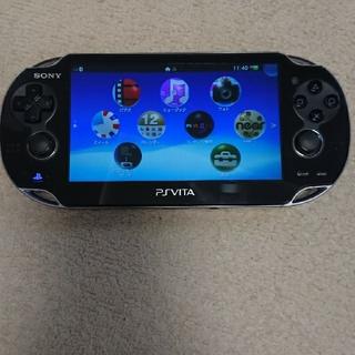 PlayStation Vita - PlayStation Vita 本体(箱&SD16G付き)