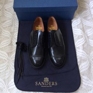 SANDERS - SANDERS Military Derby Shoe 24.5