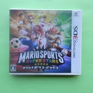 ニンテンドウ(任天堂)のマリオスポーツスーパースターズ NINTENDO 3DS 任天堂(携帯用ゲームソフト)