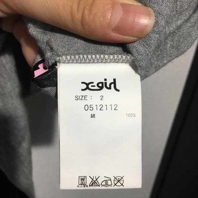 X-girl(エックスガール)のエックスガール TEE レディースのトップス(Tシャツ(半袖/袖なし))の商品写真