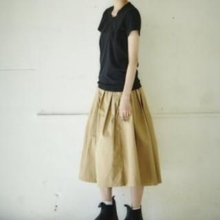 カトー(KATO`)のGRANDMA MAMA DAUGHTER チノプリーツロングスカート (ロングスカート)