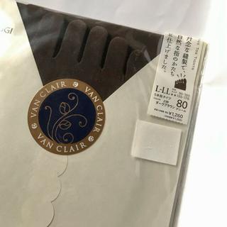 アツギ(Atsugi)の5本指タイツ L〜LL 送料込み(タイツ/ストッキング)