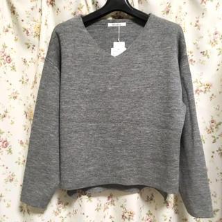 しまむら - 新品 しまむら ミラノリブ Vネックセーター