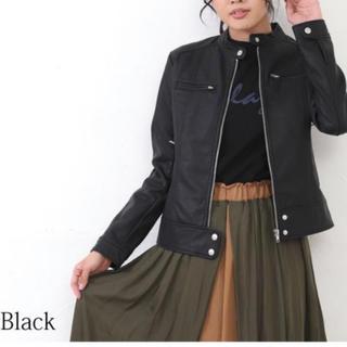ライダースジャケット ❤︎ ブラック(ライダースジャケット)