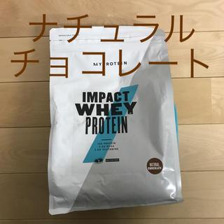 MYPROTEIN - マイプロテイン 1kg  ナチュラルチョコレート インパクトホエイプロテイン